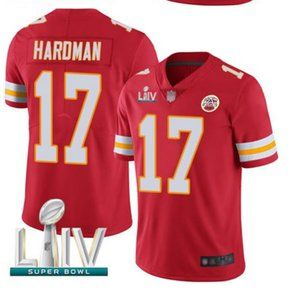 Men's Kansas City Chiefs #17 Mecole Hardman Jersey